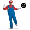 Super Mario Brothers Mario Adult Plus Costume